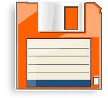 Orange Floppy Canvas Print