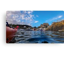 Paddle to Gorey by Gary Power Metal Print