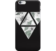Botanical triangles iPhone Case/Skin