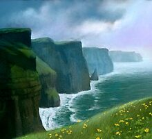 The Cliffs of Moher by thedrawinghands
