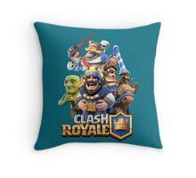 Clash Royale Throw Pillow