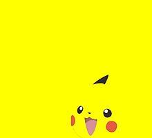 Pikachu (yellow) Pokemon Phone Case by Thomas Marsden