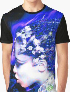 Blue Goddess Graphic T-Shirt