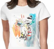Blu Womens Fitted T-Shirt