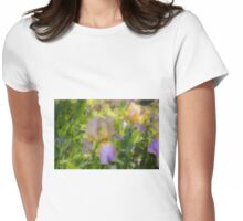 A touch of lavender Womens Fitted T-Shirt