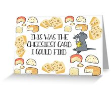 Cheesy Greeting Card - Pun Greeting Card