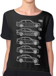 BMW M3 Series for BMW fan Chiffon Top