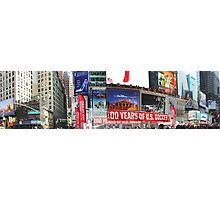 Times Square Panorama Photographic Print