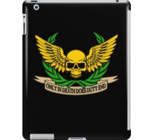 ONLY IN DEATH... iPad Case/Skin