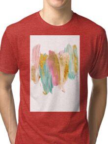 Gilded pastels Tri-blend T-Shirt