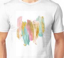 Gilded pastels Unisex T-Shirt