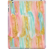 Gilded pastels iPad Case/Skin