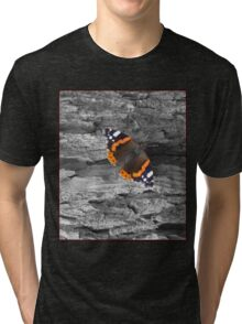 Bark and Butterfly Tri-blend T-Shirt