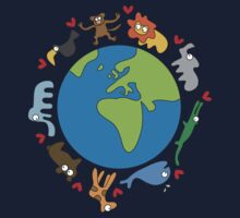 We Love Our Planet! Baby Tee