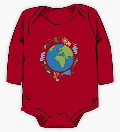 We Love Our Planet! One Piece - Long Sleeve