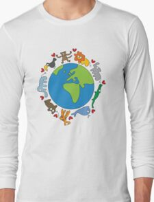 We Love Our Planet! Long Sleeve T-Shirt