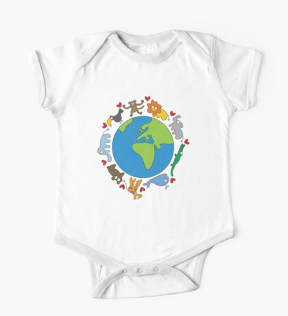 We Love Our Planet! One Piece - Short Sleeve