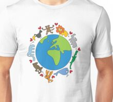 We Love Our Planet! Unisex T-Shirt