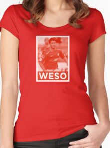 WESO Women's Fitted Scoop T-Shirt
