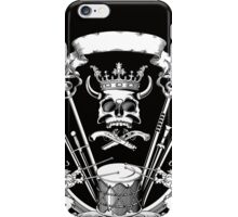 Vintage Biker Skull  iPhone Case/Skin