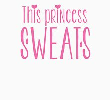 This princess sweats Womens Fitted T-Shirt