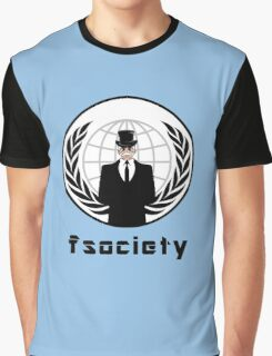 FSOCIETY MR. ROBOT Graphic T-Shirt