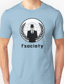 FSOCIETY MR. ROBOT Unisex T-Shirt