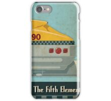Korben Dallas' Flying Taxi, The Fifth Element 3 of 3 iPhone Case/Skin