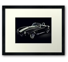 Shelby Cobra 427 Ghost Framed Print