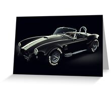 Shelby Cobra 427 Ghost Greeting Card