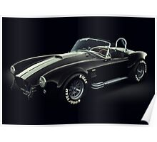 Shelby Cobra 427 Ghost Poster