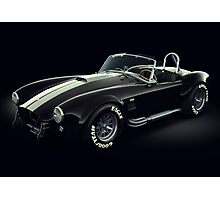 Shelby Cobra 427 Ghost Photographic Print