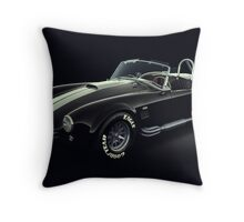Shelby Cobra 427 Ghost Throw Pillow