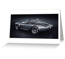Shelby Cobra 427 - Venom Greeting Card