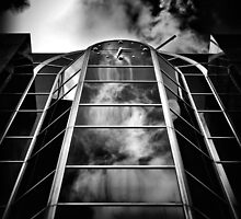 Clock Tower No 1920 Yonge St Toronto Canada by Brian Carson