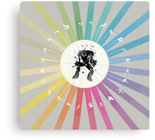 Super Attack Canvas Print