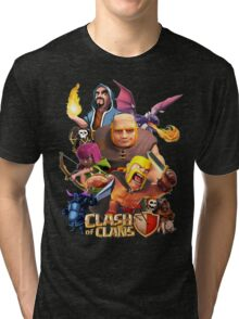 Clash Of Clans Troops Tri-blend T-Shirt