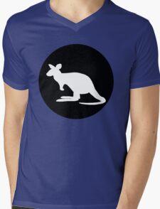 Kangaroo Mens V-Neck T-Shirt