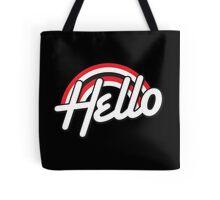 Hello Rockabilly style Tote Bag