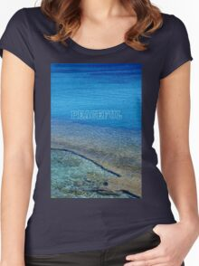 Peaceful - Greece Women's Fitted Scoop T-Shirt