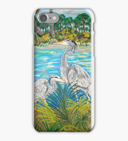 Looking out the Back Door iPhone Case/Skin