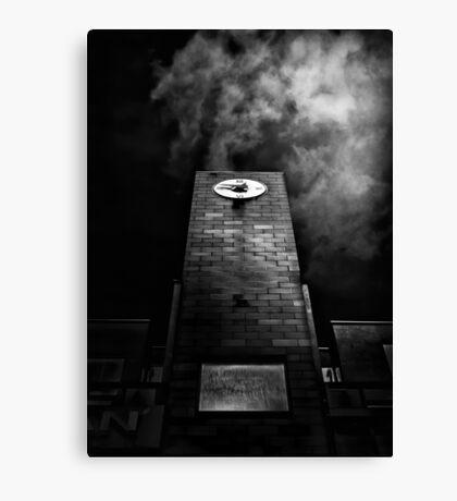 Clock Tower No 110 Davenport Rd Toronto Canada Canvas Print