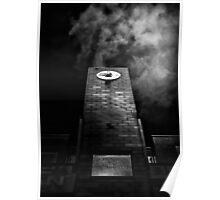 Clock Tower No 110 Davenport Rd Toronto Canada Poster