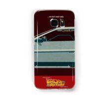 DeLorean Time Machine, Back to the Future Version 3 II/III Samsung Galaxy Case/Skin