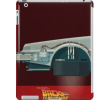 DeLorean Time Machine, Back to the Future Version 3 I/III iPad Case/Skin