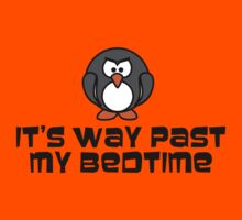 Bad Baby Bedtime Penguin Kids Clothes