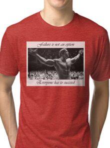Arnold motivation Tri-blend T-Shirt