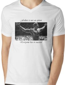 Arnold motivation Mens V-Neck T-Shirt