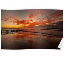 Torquay Sunrise 2 Poster