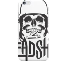 head shot iPhone Case/Skin